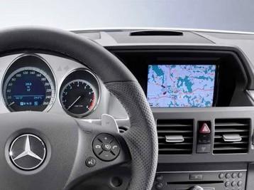 GPS навигация на Mercedes-Benz GLK-Class (X204)