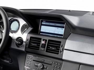 Подключение камеры на Mercedes-Benz GLK-Class (X204)
