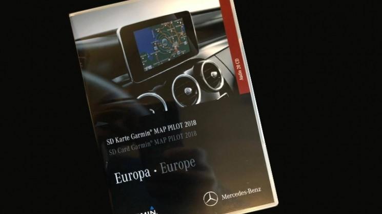 Карта памяти с GPS навигацией Garmin